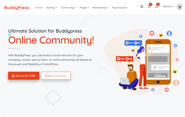 BuddyPress Community