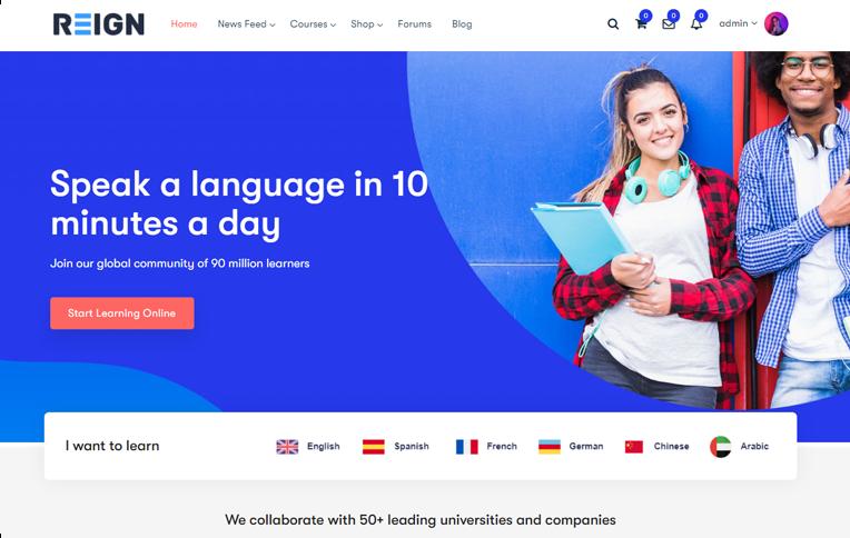 Reign LearnDash LMS BuddyBoss Platform